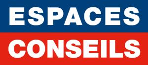 logo société espaces conseils affichage publicitaire