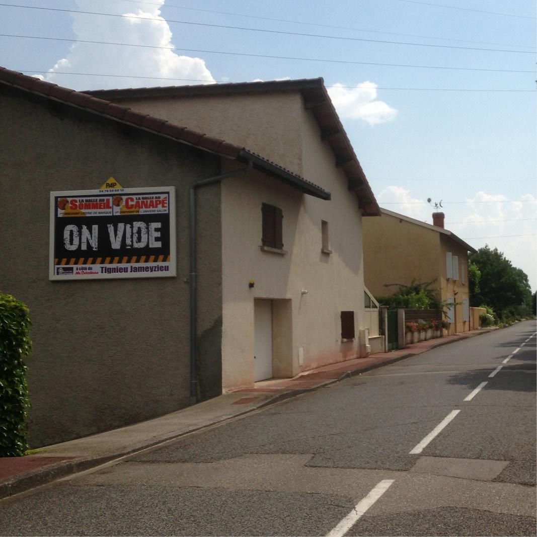 Panneau publicitaire mural PAP - France