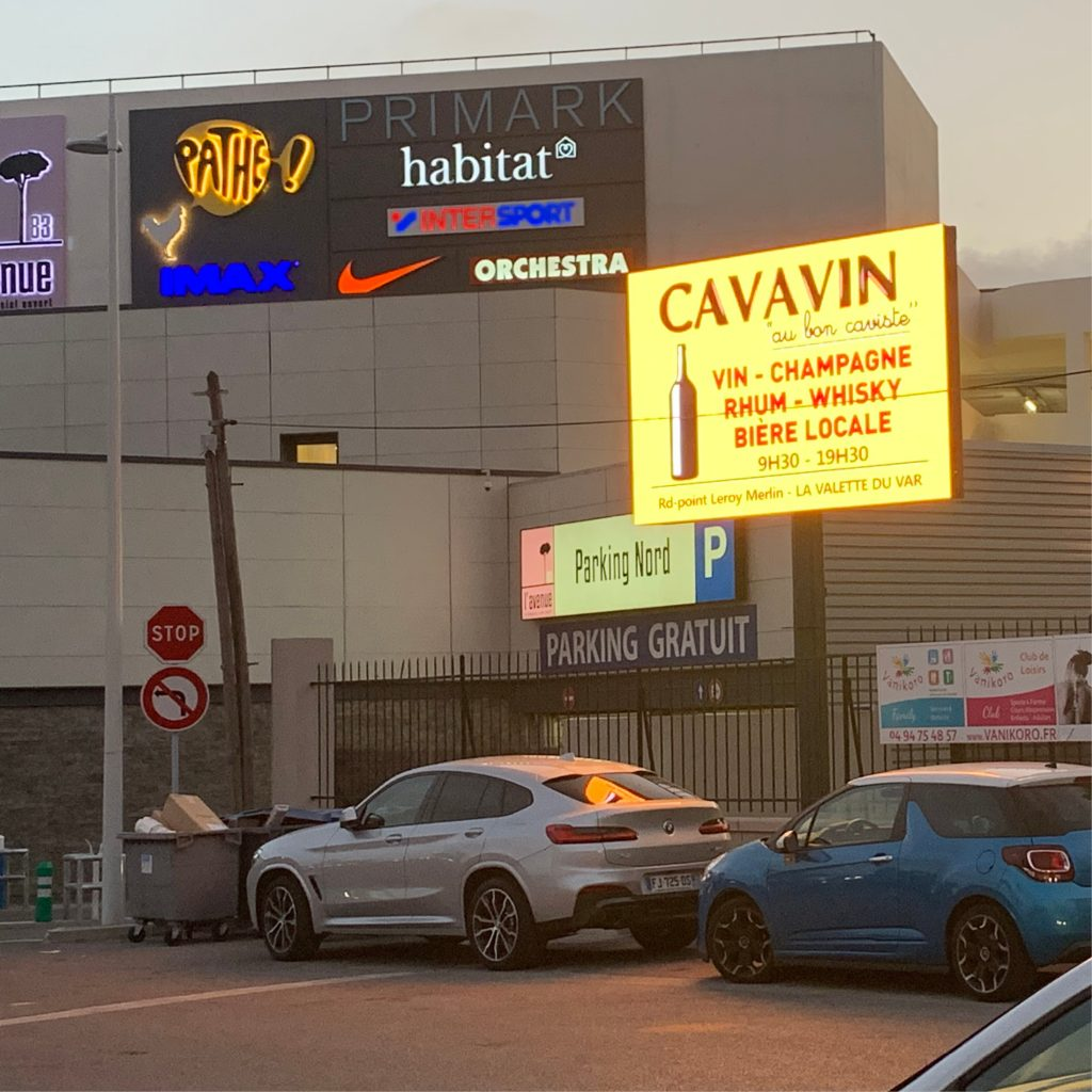 panneau LED vidéo affichage publicitaire PAP