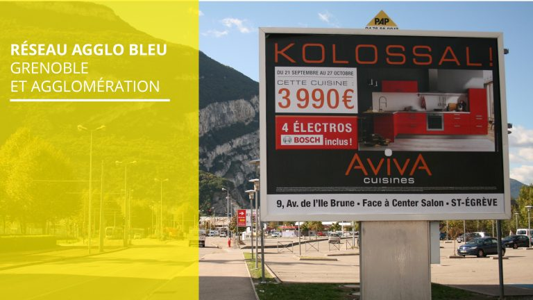 Affichage publicitaire PAP - Isère