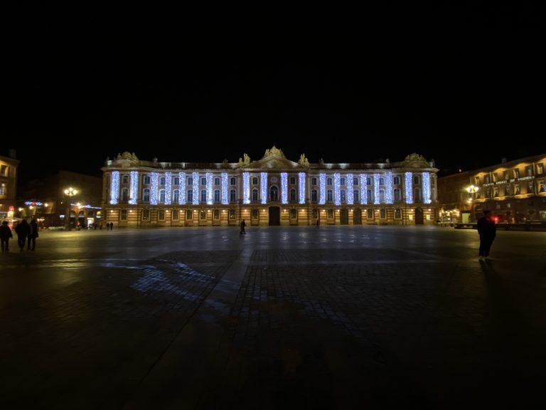 Toulouse Capitole de nuit 2020