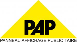 logo pap triangle jaune avec PAP