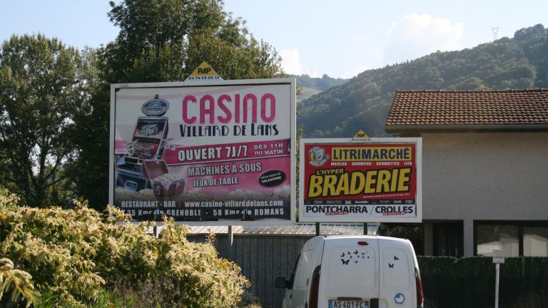 Panneaux publicitaires extérieur PAP - Isère