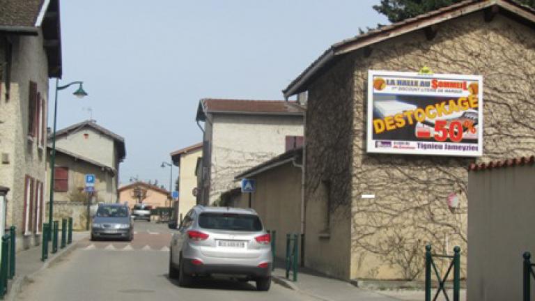 panneau publicitaire mural - PAP - France