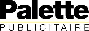 logo société Palette publicitaire fabricant d'enseignes et de signalétiques