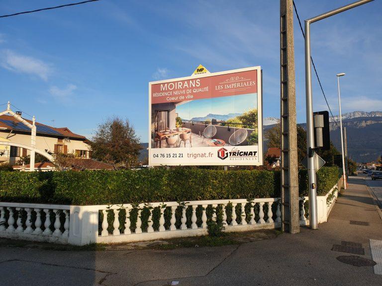 Panneau affichage Publicitaire - Trignat PAP